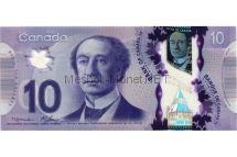 Банкнота Канада 10 долларов 2013 год