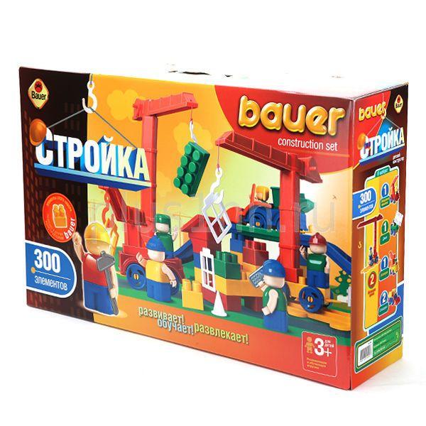 Конструктор Bauer Кроха 204 Стройка 300 деталей