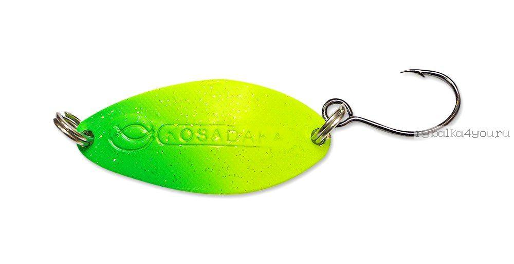 Купить Блесна Kosadaka Buggy (одинарный крючок) 32 мм / 4,5 гр цвет CO