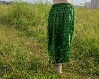 Длинная зеленая юбка купить в Санкт-Петербурге, Интернет-магазин Инд Базар ру