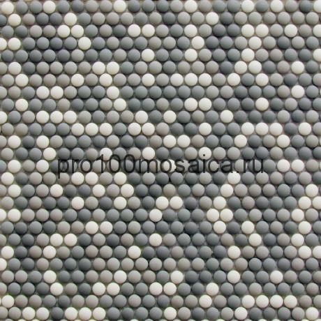 Pixel mist Мозаика D12 мм  LUX, 325*318*6 мм, (Bonaparte)