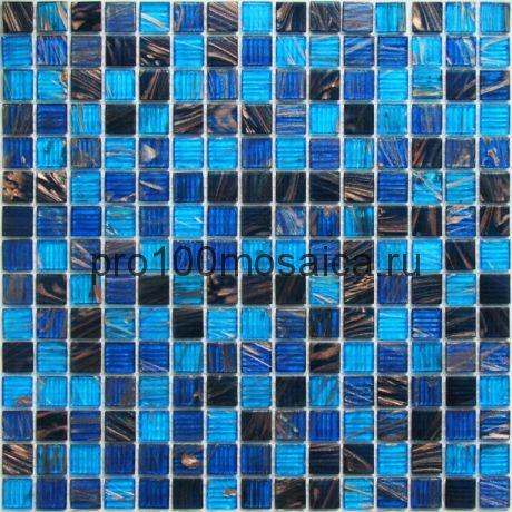 Navigator стекло. Мозаика 20*20 серия GOLDEN, размер, мм: 327*327*4 (Bonaparte)