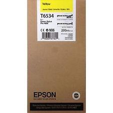 Картридж оригинальный EPSON T6534 желтый для Stylus Pro 4900 C13T653400