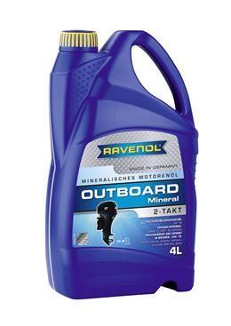 RAVENOL масло для 2Т лод.моторов минер.(4л) new