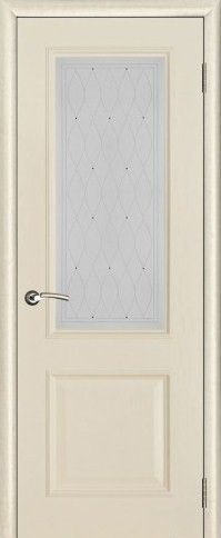 Версаль со стеклом Роса патина ваниль (тон 20)