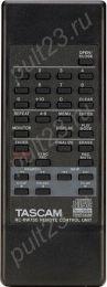 TASCAM RC-RW750, CD-RW750