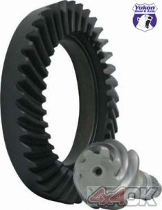 High performance Yukon Ring & Pinion gear set for Toyota FJ Cruiser Front, 4.56 ratio, thick - YG TLCF-456R-CS-T