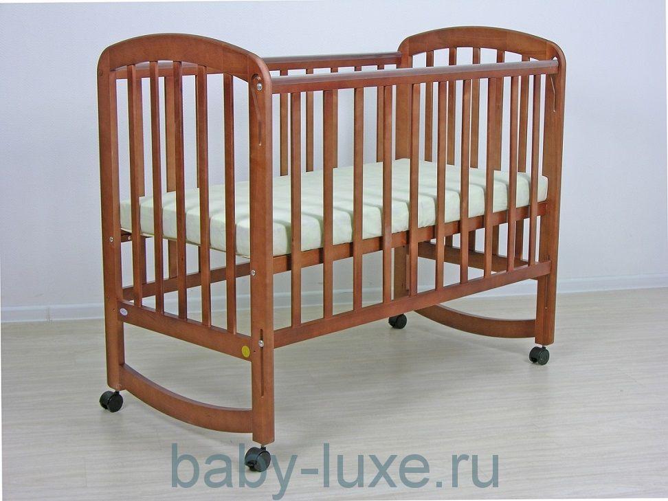 Кровать детская ФЕЯ 304 колесо/качалка