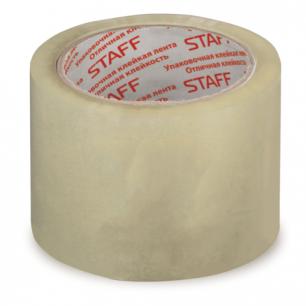 Клейкая лента 72мм х 66м упаковочная STAFF ЭКОНОМ прозрачная, 40мкм, 440088