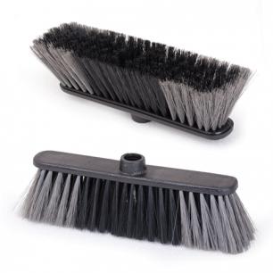 """Щетка для уборки IDEA """"Стандарт"""", шир.27см, выс.щетины 7см, пластик, черная, (черенок 601322), М 5101"""