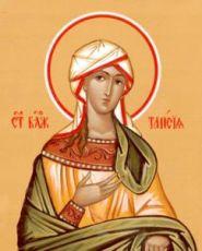 Икона Таисия Египетская (рукописная)