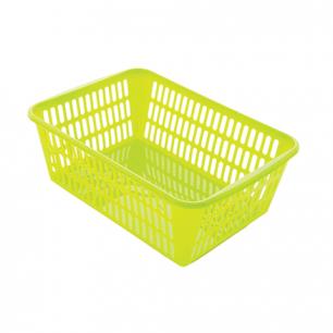 Корзинка для хранения универсальная, пластиковая, (в12,5*ш36*г25см), ассорти, 4333300