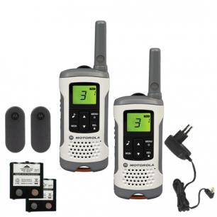Радиостанция MOTOROLA T50, до 6 км, шумоподавление, 8 каналов, КОМПЛЕКТ 2шт.
