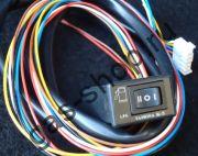 Переключатель вида топлива TAMONA  K-5 электронный- для карбюраторных  и инжекторных машин