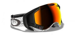 OAKLEY Airwave™ Hyperdrive Goggle White/Fire Iridium
