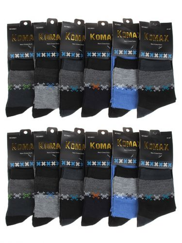 "Носки мужские  ""KOMAX"" 41-47 №M921"