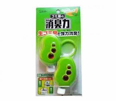 ST Shoushuuriki Жидкий дезодорант-ароматизатор для мусорных корзин с ароматом цитрусов и мяты 2г