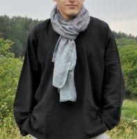 Индийский мужской хлопковый шарф за 450 руб.
