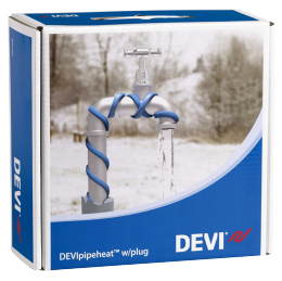 Обогрев труб DEVI нагревательный кабель саморегулируемый Deviflex DPH-10 (Pipeheat)    2 м    20 Вт