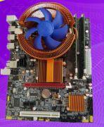 Материнская на базе чипсета Intel X58 с интегрированным процессором Xeon E5550