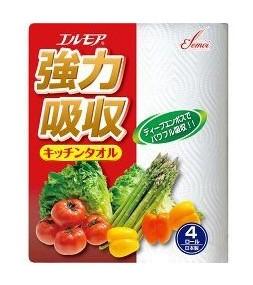 Японские бумажные полотенца для кухни Kami Shodji ELLEMOI 50 отрезков