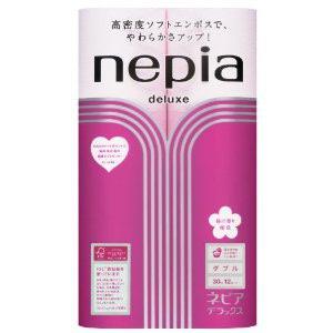 """""""NEPIA"""" """"LONG ROLL"""" Ароматизированная двухслойная туалетная бумага 45 м. (8 рулонов, аромат сакуры)"""