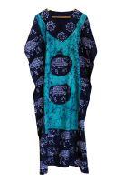 Длинное безразмерное индийское платье на кулиске, СПБ