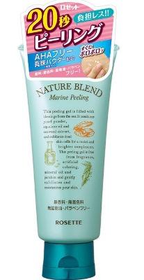 ROSETTE Marine Peeling Увлажняющий пилинг-гель с  жемчужной пудрой, скваланом и экстрактом морских водорослей, 120 гр