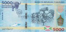 Банкнота Бурунди 5000 франков 2015 год