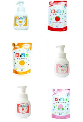 SK Kids Детское пенное мыло для тела