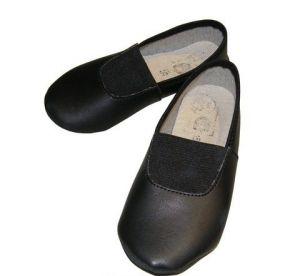 Чешки черные, размер 14,5
