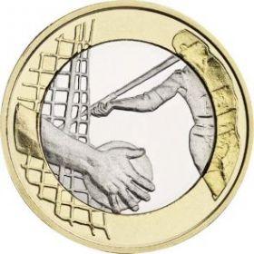 Легкая атлетика(метание диска и копья) 5 евро Финляндия 2016