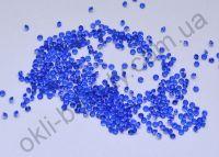 Хрустальная крошка для дизайна ногтей 200 штук синяя