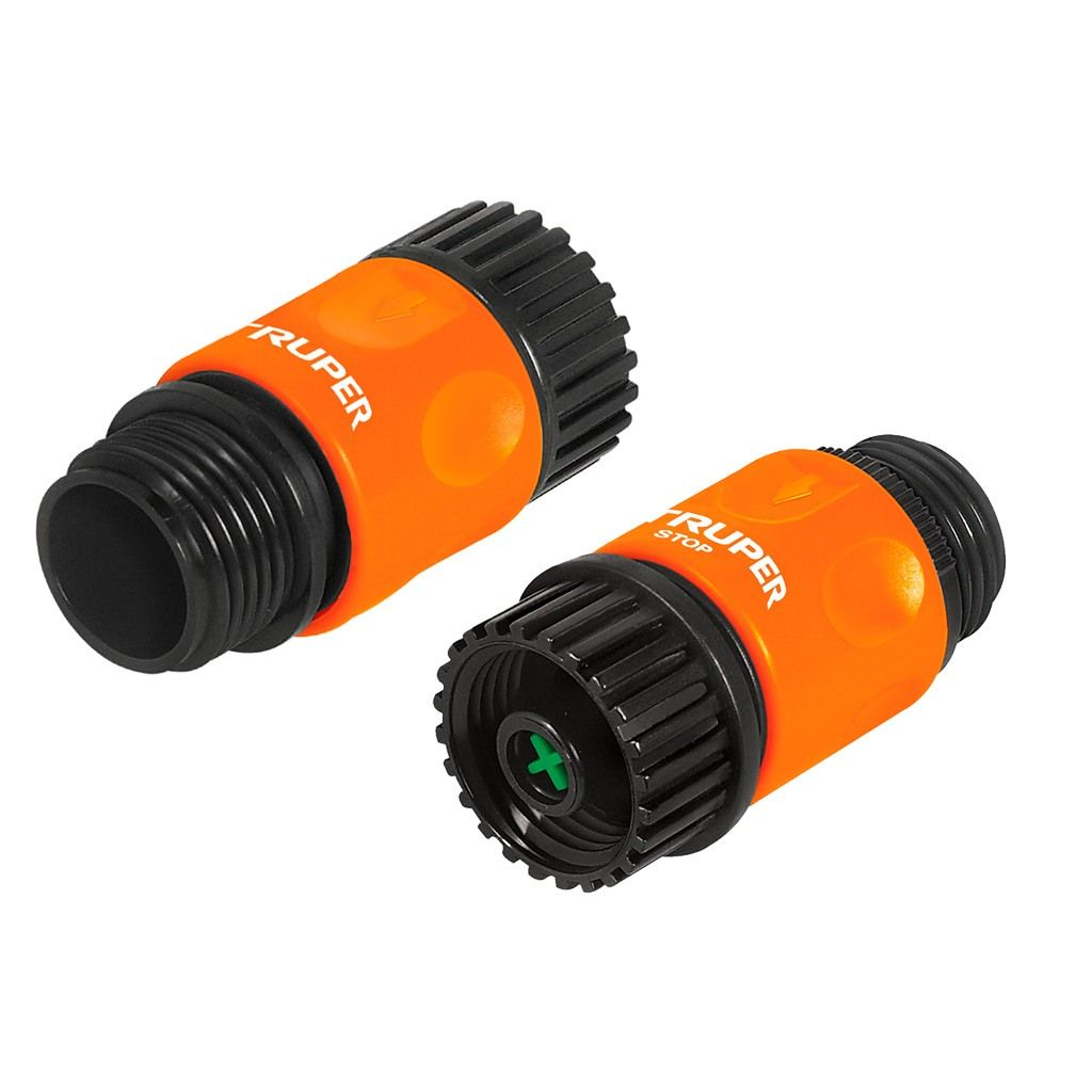 Коннектор быстрозащелк.3/4 CLICK-SET 12728