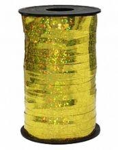 Лента голография, золото (0,5см*250м), Китай