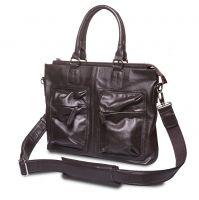 HADLEY TORN BROWN кожаная деловая сумка