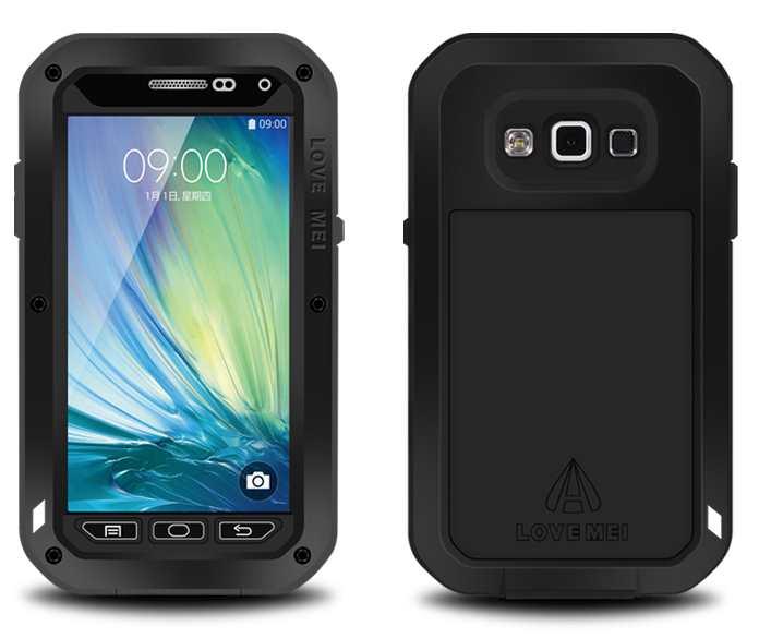 Антивандальный чехол LOVE MEI POWERFUL для Samsung Galaxy A5 SM-A500F/SM-A500H