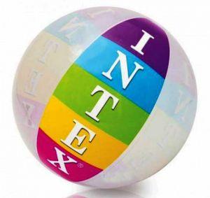 Мяч надувной с надписью INTEX (91 см)