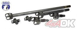 Yukon 4340 Chromoly axle kit for Jeep JK non-Rubicon front, w/1350 joints - YA W24170