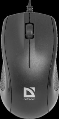 Проводная оптическая мышь Optimum MB-160 черный,3 кнопки,1000 dpi