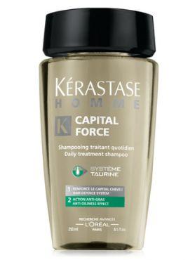 Kerastase Homme Capital Force Шампунь для жирных волос