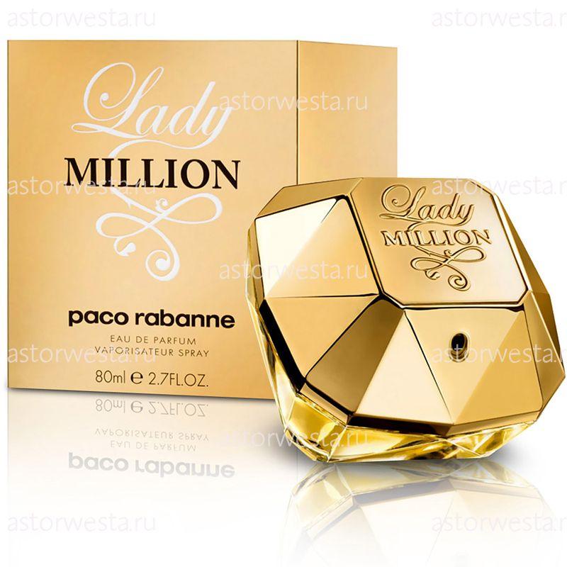 Парфюмерная вода Paco Rabanne Lady Million, 80 ml (ПОД ЗАКАЗ)