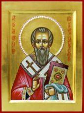 Икона Анатолий Константинопольский (рукописная)