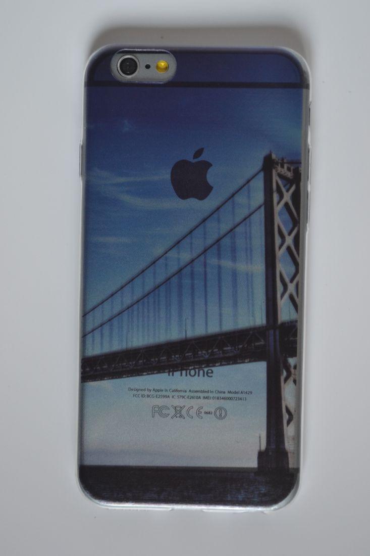 Силиконовый чехол iPhone 6/6S  мост
