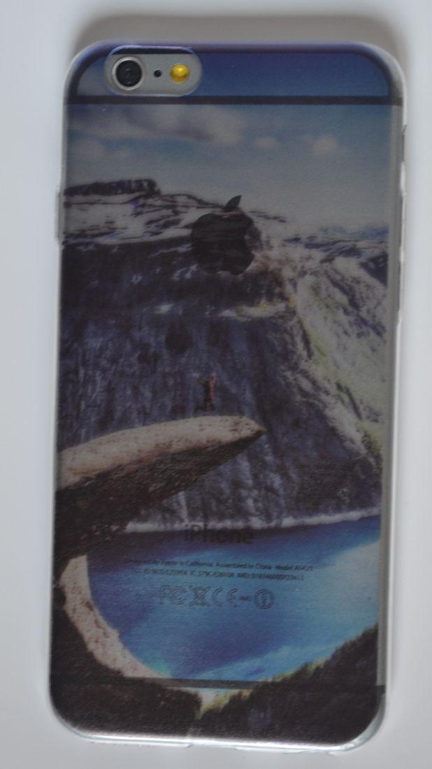 Силиконовый чехол iPhone 6/6S  норвегия