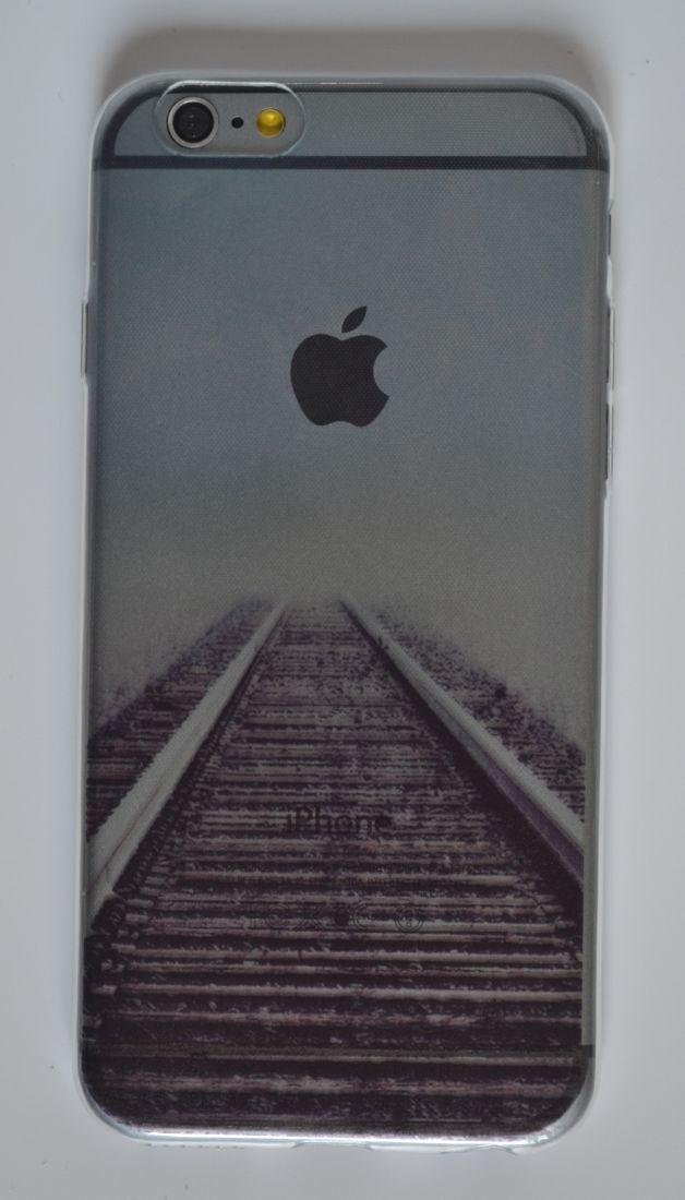 Силиконовый чехол iPhone 6/6S дорога