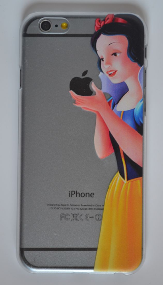 Чехол-накладка для iPhone 7/8 Белоснежка