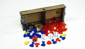 """Набор фигурных фишек для Подарочной """"Эволюции"""" в двухсекционном контейнере"""