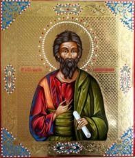 Икона Андрей Первозванный (рукописная)