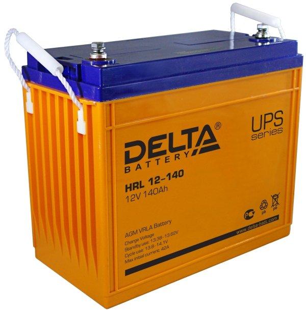 Аккумулятор свинцово-кислотный АКБ DELTA (Дельта) HRL 12-140 12 Вольт 140Ач